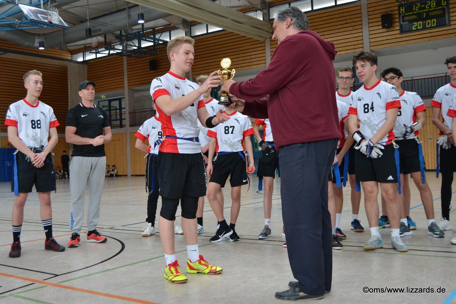 Lizzards Flag Football U16 Jugend / lizzards vs hornets 2019-03-24