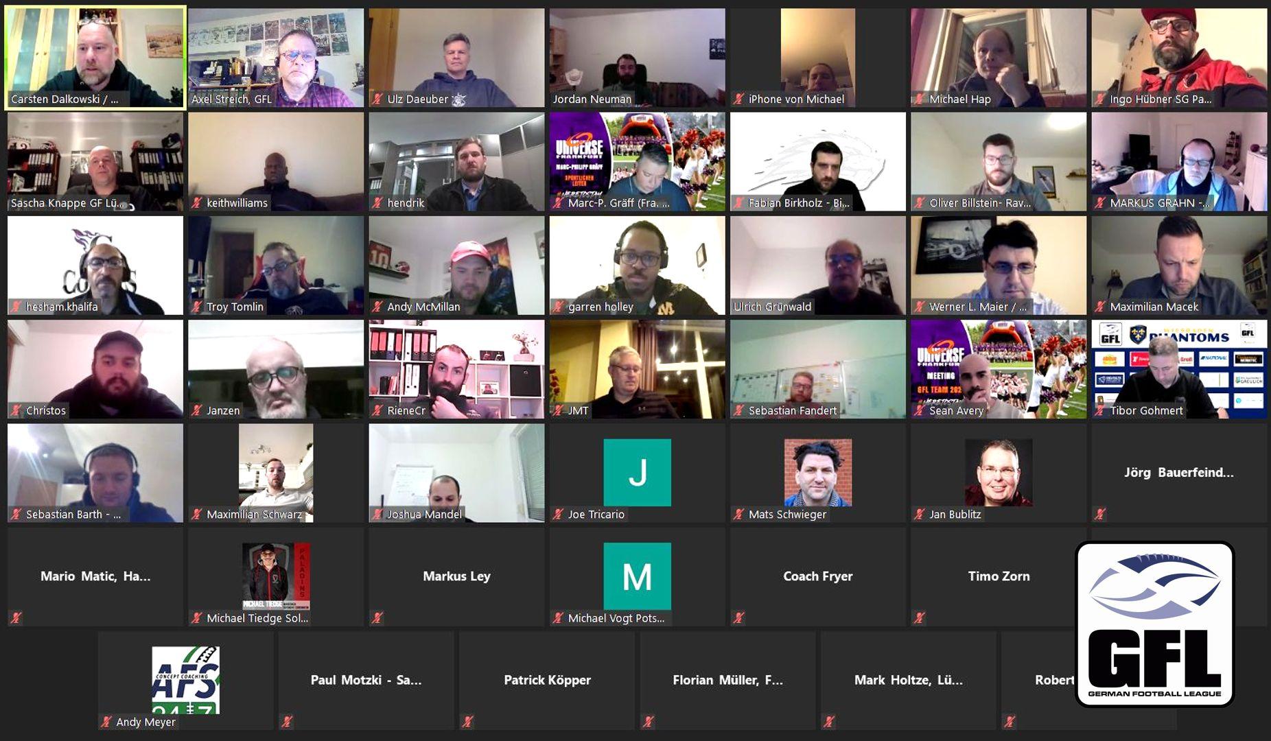 Screenshot GFL-Coaches-Meeting mL